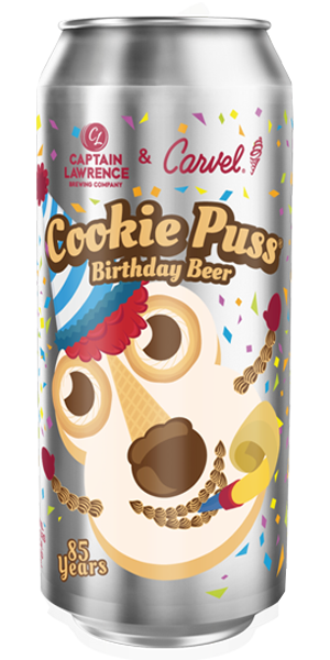 Cookie Puss 85th Birthday Beer